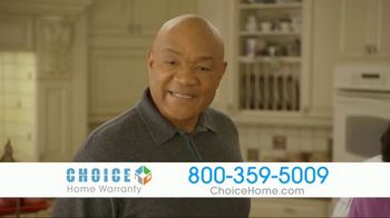 Choice Home Warranty TV Spot, 'Army of Expert Technicians' Featuring George Foreman - Thumbnail 2