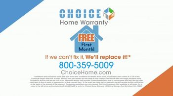 Choice Home Warranty TV Spot, 'Army of Expert Technicians' Featuring George Foreman - Thumbnail 4