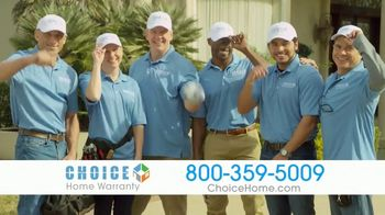 Choice Home Warranty TV Spot, 'Army of Expert Technicians' Featuring George Foreman - Thumbnail 7