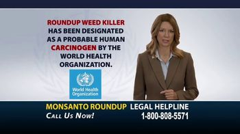 Roundup Legal Helpline TV Spot, 'Roundup Exposure'