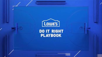 Lowe's TV Spot, 'Do It Wright Playbook: Lawn Care' Featuring Jay Wright - Thumbnail 1