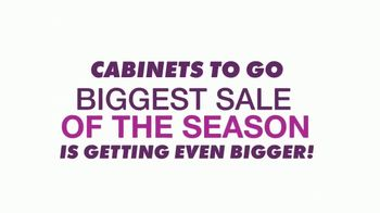 Cabinets To Go Annual Spring Kitchen Makeover Sale TV Spot, 'Extended: Free Kitchen Design' - Thumbnail 2