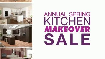 Cabinets To Go Annual Spring Kitchen Makeover Sale TV Spot, 'Extended: Free Kitchen Design'