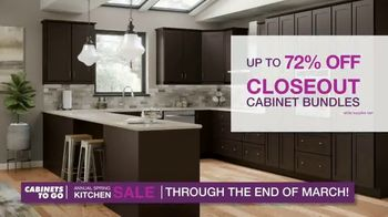 Cabinets To Go Annual Spring Kitchen Makeover Sale TV Spot, 'Extended: Free Kitchen Design' - Thumbnail 4