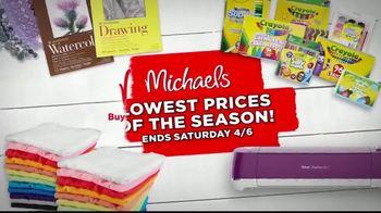 Michaels Lowest Prices of the Season Sale TV Spot, 'Easter Decor' - Thumbnail 8