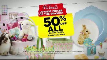 Michaels Lowest Prices of the Season Sale TV Spot, 'Easter Decor' - Thumbnail 5