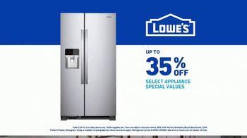 Lowe's TV Spot, 'Happy Hunting: Refrigerator' - Thumbnail 8