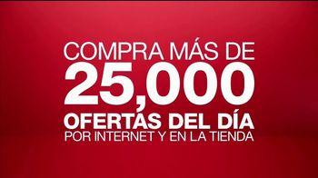 Macy's La Venta de Un Día TV Spot, 'Juegos de cama, aretes y abrigos'  [Spanish]