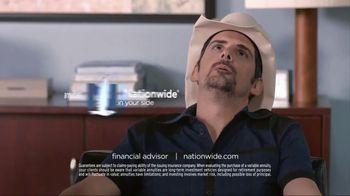 Nationwide Insurance Annuity TV Spot, 'Jingle Sessions: Lyrics' Feat. Peyton Manning, Brad Paisley - Thumbnail 10
