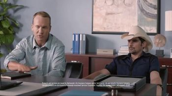 Nationwide Insurance Annuity TV Spot, 'Jingle Sessions: Lyrics' Feat. Peyton Manning, Brad Paisley - Thumbnail 3