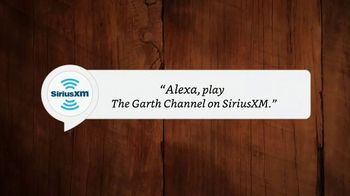 SiriusXM Satellite Radio TV Spot, 'The Garth Channel: Amazon Alexa'