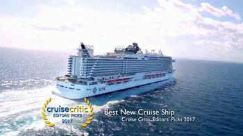 MSC Cruises TV Spot, 'Best New Cruise Ship: 7-Night Caribbean' - Thumbnail 1