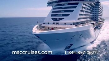 MSC Cruises TV Spot, 'Best New Cruise Ship: 7-Night Caribbean'