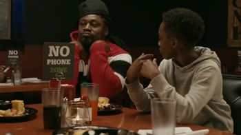 Common Sense Media TV Spot, 'Device-Free Dinner: Hot Sauce' Featuring Marshawn Lynch