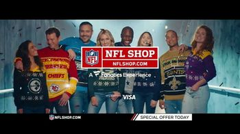 NFL Shop TV Spot, 'Holidays: Lighted Sweaters' - Thumbnail 10