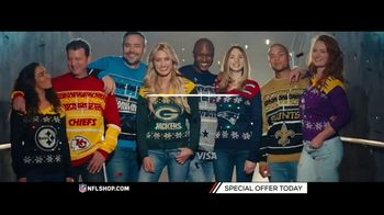 NFL Shop TV Spot, 'Holidays: Lighted Sweaters' - Thumbnail 9