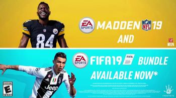 Madden NFL 19 and FIFA 19 Bundle TV Spot, 'Score More Football' - 2 commercial airings