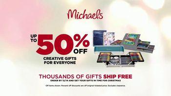 Michaels Mega Gift Event TV Spot, '2018 Holidays: 50 Percent Off Creative Gifts' - Thumbnail 10