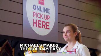 Michaels Mega Gift Event TV Spot, '2018 Holidays: 50 Percent Off Creative Gifts' - Thumbnail 2