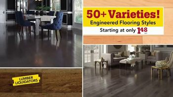 Lumber Liquidators TV Spot, 'Easy-to-Install Flooring'