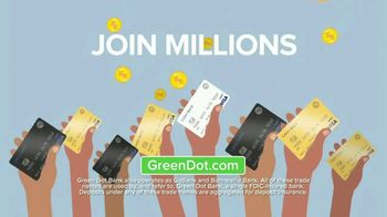 Green Dot 5 Percent Cash Back Visa Debit Card TV Spot, 'A New Kind of Bank' - Thumbnail 10