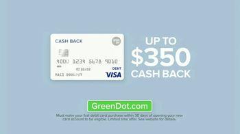 Green Dot 5 Percent Cash Back Visa Debit Card TV Spot, 'A New Kind of Bank' - Thumbnail 9