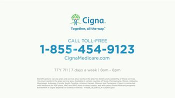 Cigna Medicare Advantage TV Spot, 'Limit Out-of-Pocket Cost' - Thumbnail 8