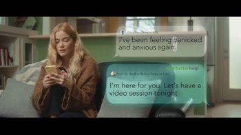 BetterHelp TV Spot, 'Panic Attack'