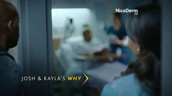 Nicoderm CQ Patch TV Spot, 'Josh and Kayla Know Quitting is Hard' - Thumbnail 2