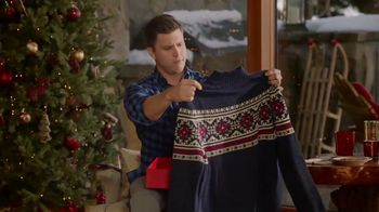 IZOD Sweater TV Spot, 'Holidays: Sweater of the Future' Featuring Colin Jost, Aaron Rodgers - Thumbnail 2