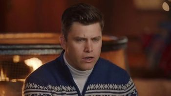 IZOD Sweater TV Spot, 'Holidays: Sweater of the Future' Featuring Colin Jost, Aaron Rodgers - Thumbnail 7