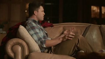 IZOD Sweater TV Spot, 'Holidays: Sweater of the Future' Featuring Colin Jost, Aaron Rodgers - Thumbnail 9