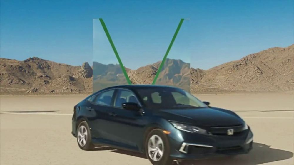 Honda Civic Commercial >> Honda Civic Tv Commercial The Road Before You Letters T1