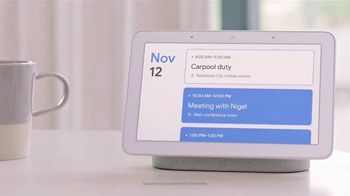 Google Home Hub TV Spot, 'Morning: $129' Song by Jacqueline Taieb - Thumbnail 9
