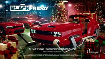 Dodge Black Friday Sales Event TV Spot, 'Upgrade' Featuring Bill Goldberg [T2] - Thumbnail 8