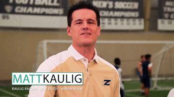 The University of Akron TV Spot, 'Spotlight on Success' Featuring Matt Kaulig - Thumbnail 3