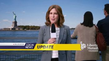 Liberty Mutual Car Insurance TV Spot, 'Local News Update' - 22989 commercial airings