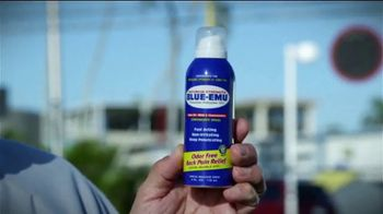 Blue-Emu Pain Relief Spray TV Spot, 'Home Run' Featuring Johnny Bench