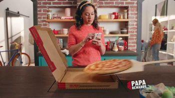 Papa John's Rewards TV Spot, 'Earn Points Faster: Free Cheesesticks'