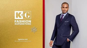 K&G Fashion Superstore Holiday Event TV Spot, 'Men's Designer Suits and Dress Shirts' - Thumbnail 5
