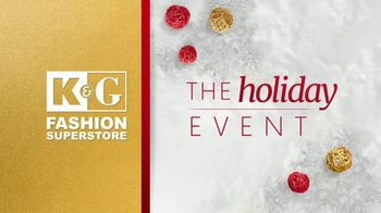 K&G Fashion Superstore Holiday Event TV Spot, 'Men's Designer Suits and Dress Shirts' - Thumbnail 1