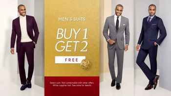K&G Fashion Superstore Holiday Event TV Spot, 'Men's Designer Suits and Dress Shirts'
