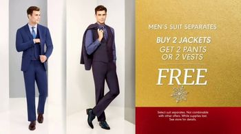 K&G Fashion Superstore Holiday Event TV Spot, 'Men's Designer Suits and Dress Shirts' - Thumbnail 3