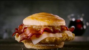 Wendy's Bacon Maple Chicken Sandwich TV Spot, 'National Maple Syrup Day' - Thumbnail 10