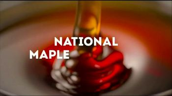 Wendy's Bacon Maple Chicken Sandwich TV Spot, 'National Maple Syrup Day'
