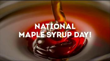 Wendy's Bacon Maple Chicken Sandwich TV Spot, 'National Maple Syrup Day' - Thumbnail 4