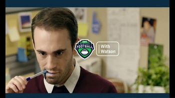 IBM Watson TV Spot, 'Avoid Fantasy Football Face: Lose the Game Day Blues With IBM Watson' - Thumbnail 10