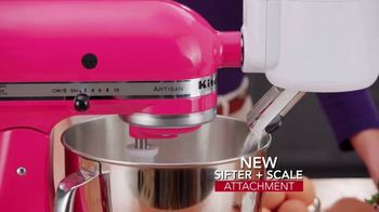 KitchenAid Stand Mixer TV Spot, 'Be Creative Every Day' Featuring Monti Carlo