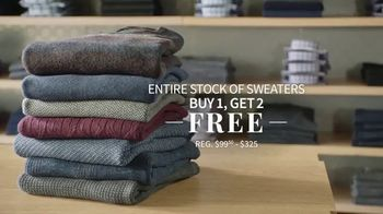 Biggest Sweater Sale of the Year: Buy One, Get Two Free