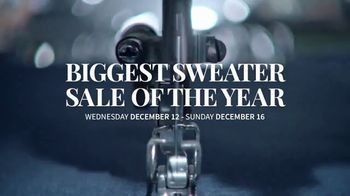 JoS. A. Bank Biggest Sweater Sale of the Year TV Spot, 'Buy One, Get Two Free'